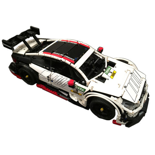 2006Pcs MOC Electric Remote Control Super Cool Racing Car Model Small Particle Building Blocks Educational Toy Set
