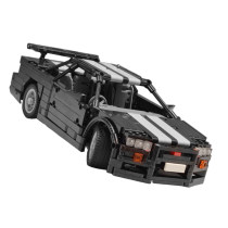 714Pcs MOC Electric Remote Control Sports Car Model Small Particle Building Blocks Educational Toy Set