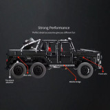 M-Benz G63 Model 3300Pcs RC Off Roader Technic Custom Construction Building Block Kits for Kids Adult Compatible Major Brands