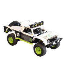 651Pcs MOC Electric Remote Control Off-road Vehicle Short Course Truck Model Small Particle Building Blocks Educational Toy Set