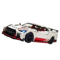 3208Pcs MOC RC Racing Car Vehicle Model High Level Assembly Small Particle Building Block Set with Motor and Remote Control