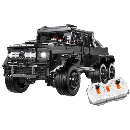 M-Benz G63 Model 3300Pcs RC Off Roader Technic Custom Construction Building Block Kits for Kids Adult Compatible Major Brands