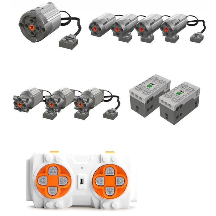 Mould King Technic 13107 MK II Model, 2590Pcs RC Mechanical Crane Building Blocks Kit