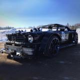 Technic Ford Mustang Hoonicorn 3168Pcs Technic Custom Construction Toys Kids Building Blocks Sports Car Kit