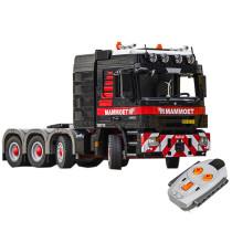 3475Pcs MOC Small Particle High Level Remote Control Truck Locomotive Building Block Model - Electric Version