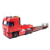 7866Pcs MOC Electric Remote Control Big Truck Model Small Particle Building Blocks Educational Toy Set