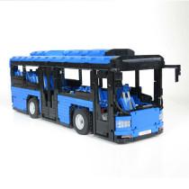 2673Pcs Moc Commuter Vehicles Bricks Transport Truck Building Blocks Sets- Remote Control Version