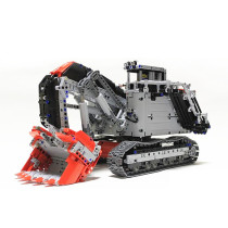 4370Pcs MOC Mine Excavator Vehicle Model High Level Assembly Small Particle Building Block Set with Motor and Remote Control