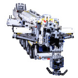 Technic Liebherr LTM 11200, 7692Pcs Assembly Liebherr Crane Model Building Kit with RC Motor and Remote Control Toy