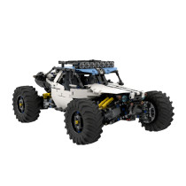 1912Pcs 4WD MOC RC Off-road Vehicle Model High Level Assembly Small Particle Building Block Set with Motor and Remote Control