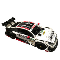 Technic Mercedes-Benz AMG C63 DTM 2500Pcs MOC RC Sports Car Building Block Set with Motor and Remote Control