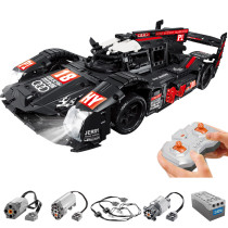 1908Pcs Remote Control Version MOC Racing Car Building Block Toy Assembly Vehicle Model