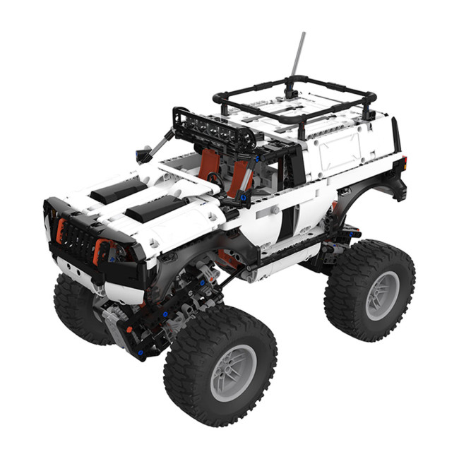 1500Pcs Moc Electric RC 4WD Off-road Vehicle Bricks Small Particle 2.4 G Intelligent RC Vehicle
