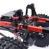 Metal CNC Carbon Frame 313mm Wheelbase Crawler Cars Parts  for Jeep Wrangler 1/10 SCX10 Car - Portal Axle