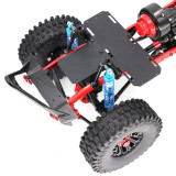 313mm Wheelbase General Chassis Frame Remote Control Climbing Car Reverse Axle for 1/10 RC Car SCX10