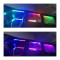 2Pcs 8cm Remote Control 10 LEDs Colorful Car Lights Color Change Light Strip for 1/10 SCX10 TRX4 D90 90046 RC Car