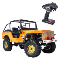 RGT 86010CJ 1/10 4WD All-terrain Off-road Vehicle Rock Crawler Climbing Vehicle RC Car - RTR Version