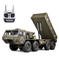 HG P803A 1/12 2.4G 8X8 EP RC Car for US Army Military Truck 5KG Load Capacity without Battery Charger
