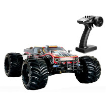 JLB Racing 11101 1/10 4WD 120A Brushless Monster Truck Electric RC Car with Metal Chassis