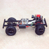 1:10 Fuel Model Car Set (Frame + Toyan Engine + Toyan Engine Parts + Remote Controller)