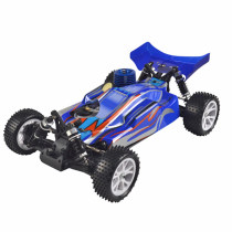 1:10 4WD Methanol Fuel Remote Control Off-road Vehicle High Speed Model Car - Blue