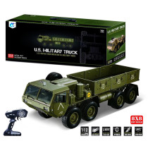 1:12 8 x 8 R/C 2.4G Electric Remote Control Militray Truck Model All Terrin Truck Kit