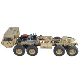 1:12 8x8 R/C 2.4G High Horse Horsepower Methanol Gas Powered Military Truck Off-road Vehicle (Including Engine / Transmission / Clutch / Steering Gear / Remote Control / Fuel Tank and Other Accessories)