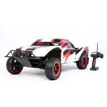 ROFUN 1/5 Scale 4WD Ready To Run Short Course Baja Gas Truck (black/white/red)