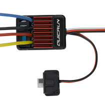 Hobbywing QuicRun 1625 25A Waterproof Dual Brushed ESC for 1/16 1/18 RC Car