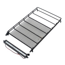 RGT EX86100 Metal Luggage Rack Carrier with Headlight for Climbing Car