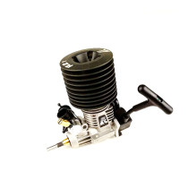 FC 21 Engine Pull Starter 3.46cc Engine for 1/8 Methanol Fuel RC Model Car (with Spark Plug)