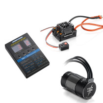 Hobbywing EZRUN MAX8 V3 150A Waterproof Brushless ESC with LED Programming Card and 4274 2200KV Motors for 1/8 RC Car