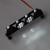 Multi-function Bright Lamp Roof Light Bar with 4 Spotlights and Screws for 1:8/1:10 RC Off-road Vehicle Climbing Car