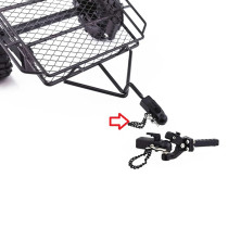 Simulation Climbing Car Trailer Hook Trailer Link Component and Trailer Buckle for SCX10 Traxxas TRX4 Climbing Car