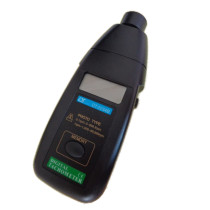 Non Contact Digital Photo Tachometer Motor Speed Gauge Testing for Engine Micro Motor