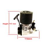 FC 21 Engine Pull Starter 3.46cc Engine for 1/8 Methanol Fuel RC Model Car (with Spark Plug)