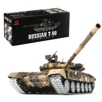 1:16 Russian T90 Main Battle Tank 2.4G Remote Control Model Tank with Sound Smoke Shooting Effect