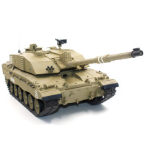 1:16 British Challenger Ⅱ Main Battle Tank 2.4G Remote Control Model Military Tank with Sound Smoke Shooting Effect