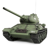 1:16 Soviet T-34 Medium Tank 2.4G Remote Control Model Military Tank with Sound Smoke Shooting Effect