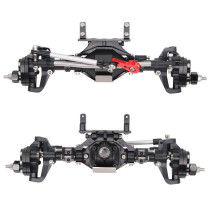 Front Axle and Rear Axle for 1/10 SCX10 90046 90047 RC Climbing Car with 313mm Wheelbase - The Fourth-generation Upgraged Version