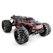 JLB Racing 1:10 4WD RC Brushless Monster Truck Off-road Vehicle Waterproof RC Car with Wheelie Function - RTR Version