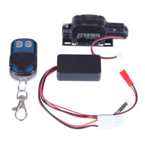 RC 4WD 1:10 Remote Climbing Car Original Simulation Accessories Metal Electric Winch + Remote Control