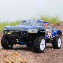 HSP 94155 1:10 4WD Double Speed Short Course Racing Car Methanol Fuel Powered RC Car