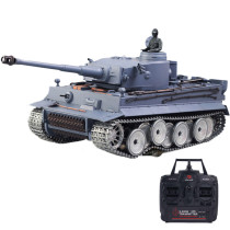 1:16 German Tiger Heavy Tank 2.4G Remote Control Model Military Tank with Sound Smoke Shooting Effect