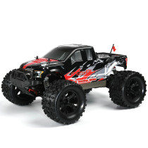 FS Racing 1:10 Bigfoot Car 4WD High Speed Brushless Remote Control Car with Body ESC Motor 2.4G Remote Control - RTR Version