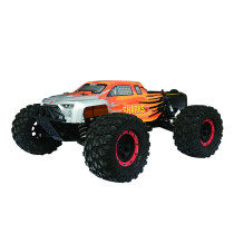 FS Racing 1:8 Bigfoot Car 4WD High Speed Brushless Remote Control Car with Body ESC Motor 2.4G Remote Control