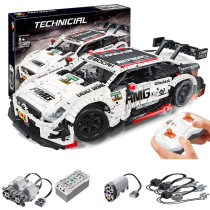 2289Pcs Moc Technic RC Mercedes Benz AMG C63 Model 1/8 Construcion Vehicle Bricks Toy