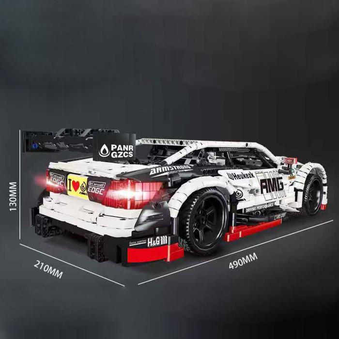 2289Pcs-Moc-Technic-RC-Mercedes-Benz-AMG-C63-Model-1/8-Construcion-Vehicle-Bricks-Toy
