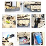 MOC-Military-RC-Tank-Model-Building-Block