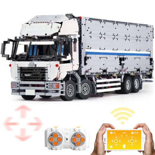 4166Pcs Technic RC Arakawa Truck 4CH Luxury Truck Model Building Blocks Truck Toy with 6 Motors